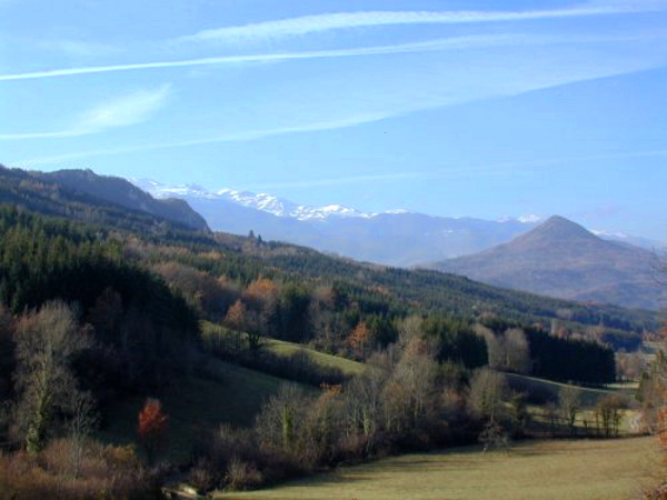 Ariège countryside south of Mirepoix